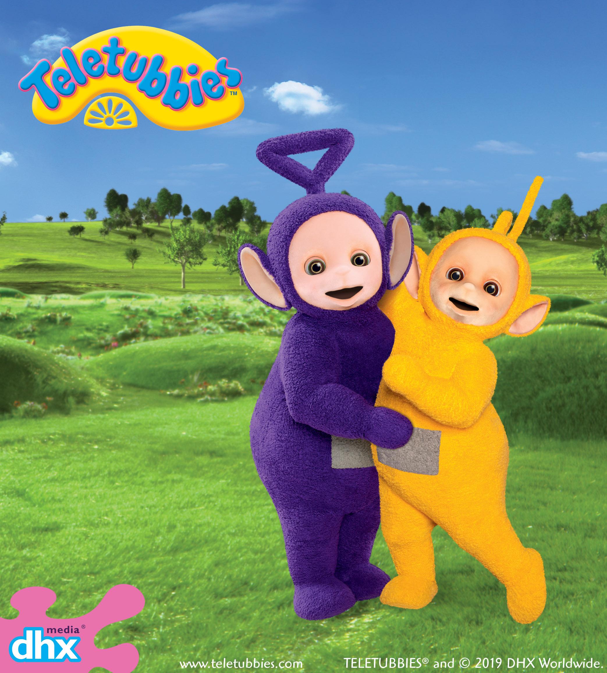 Laa Laa: Tinky Winky And Laa-Laa From The Teletubies